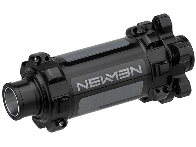 NEWMEN MTB Voornaaf 15x110 mm 6-bouts Gen2, black anodised/grey